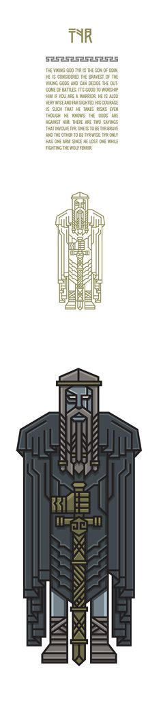 Tyr // NORSE GODS on Behance