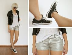 SILVER. (by Sietske L) http://lookbook.nu/look/2115953