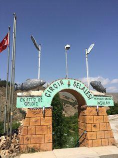 Çırçır şelalesi Elazığ Türkiye