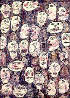 Jean Dubuffet (French, 1901~1985)