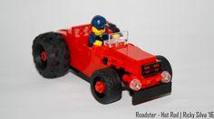 https://flic.kr/p/NiR7ka | [MOC] Roadster - Hot Rod (2)