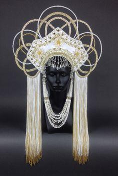 Headdress by Miss G Designs