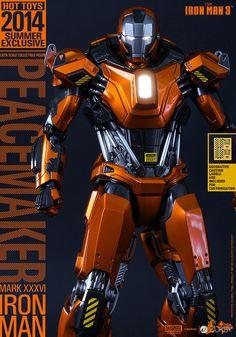 Hot Toys – MMS258 – 鋼鐵人【馬克36 和平製造者】1/6 比例 Mark XXXVI Peacemaker - JUKSY 線上流行生活雜誌