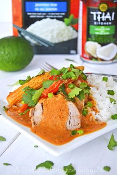 Coconut Red Curry Crockpot Pork Tenderloin - A Pretty Life In The Suburbs