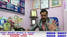 Ramya Modular Kitchen & Interiors Rtn. Dr. K Govindan  Ph.D. (USA)      Managing Partner - YouTube