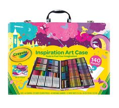 Inspiration Art Case, Pink - Crayola