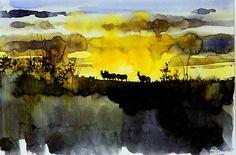 Morgen-in-der-Serengeti