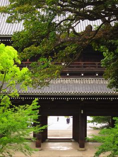 Sanmon (Main Gate) of Chion in temple Kyoto