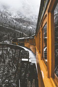 Train Ride // Denver, Colorado