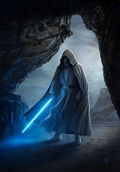 Luke Skywalker   Star Wars: The Last Jedi   #starwars #starwarsart #starwarsfanart #jedi #lukeskywalker #thelastjedi