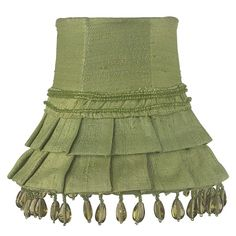 Httpfabstylekidsroomslightinglamp shadeschandelier shade heavenly lights skirt dangle green chandelier shade 3300 http aloadofball Image collections