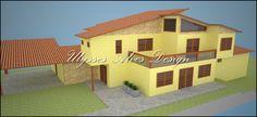 Ulysses Alves Design: Casa Colonial Moderno  (Projeto 3D)
