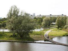 Nelson Mandelapark, by Mecanoo in Bijlmermeer, Amsterdam.