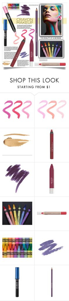 """""""The Beauty of a Woman"""" by fassionista ❤ liked on Polyvore featuring beauty, White Label, NARS Cosmetics, Styli-Style, Lancôme, Revlon, BHCosmetics, Hard Candy, makeup and crayon"""