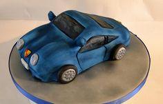 Porshe birthday cake Birthday Cakes, Husband, Birthday Cake, Donut Birthday Cakes
