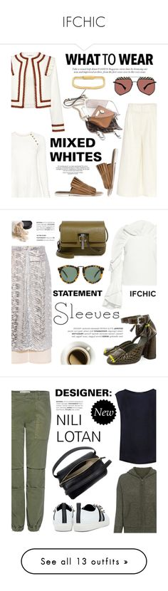 """""""IFCHIC"""" by jzanzig ❤ liked on Polyvore featuring Apiece Apart, Ganni, 10 Crosby Derek Lam, TIBI, Grey Ant, Mohzy, MIANSAI, contemporary, Rachel Comey and SUNO New York"""