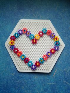 Handicraft ideas for Mother's Day Handicrafts with children, HAMA, ironing beads, Perler Beads, . Perler Bead Templates, Diy Perler Beads, Perler Bead Art, Hama Bead Boards, Hama Beads Coasters, Hama Beads Design, Hama Beads Patterns, Beading Patterns, Hamma Beads Ideas