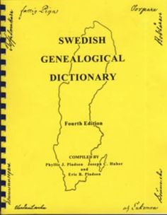 Swedish Genealogical Dictionary, Fourth Edition