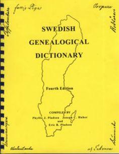 Swedish Genealogical Dictionary, Fourth Edition