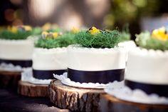 cake +tree stumps