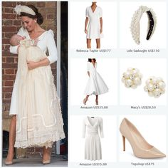 df18804ab2e Duchess Kate remains faithful to Alexander McQueen for Prince Louis s  Christening