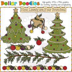 O Christmas Tree 1 Clip Art Download