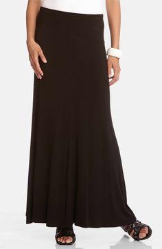 Main Image - Karen Kane Flared Maxi Skirt