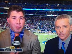 NFL Sunday on FOX with David Diehl and Thom Brennaman from St. Louis, MO