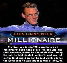 John carpenter-millionaire