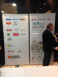 Patrocinadores del XIX Concurso de Tapas de Zaragoza