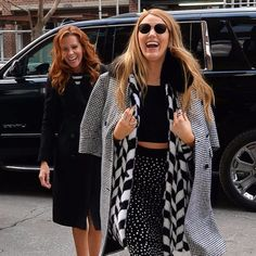 Blake Lively and Robyn Lively Out in NYC February 2017