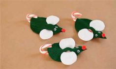Creative Holiday Crafts for Kids: Minty Mouse (via FamilyFun magazine)