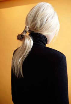 oystermag:  Oyster Fashion: 'Neck' Shot By Helen Eriksson