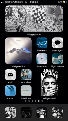 Iphone Icon, Ios App, Homescreen, Decoration, Wall, Desktop Organization, Decor, Deko, Embellishments