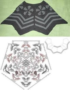 Crochet Sweater: Womens Sweater - Crochet Sweater - Beautiful colors