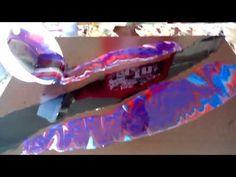 160 -El arte en la pintura.. Resina con pintura acrílica - YouTube