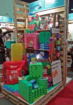 PIZPIRETOS: Stand Nº 659 dedicado a Eco-diseño Infantil y Emprendedores infantiles