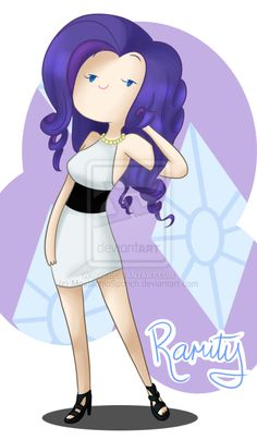.Rarity. by MostachioSponch.deviantart.com on @deviantART