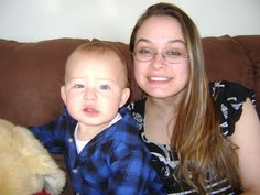 One of my daughters and her son