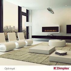 Dimplex Fireplace, Gas Fireplaces, Electric Fireplaces, Fireplace Ideas, Living Room With Fireplace, Praha, Table, Safety, Technology