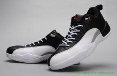 brand new 1e811 ab478 AIR JORDAN 12 RETRO LOW Branco Preto PLAYOFF venda de tenis on line Jordans  Sneakers