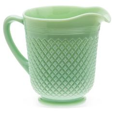 Check out this item at One Kings Lane! Addison Pitcher, Jadeite