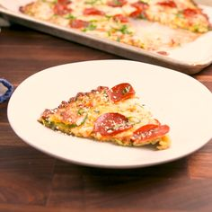 Veggie Recipes, Low Carb Recipes, Vegetarian Recipes, Cooking Recipes, Healthy Recipes, Zuchinni Recipes, Ketogenic Recipes, Ketogenic Diet, Zucchini Pizza Crust