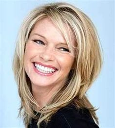 Haircut for thin hair at shoulder length – half-length hairstyles fine hair – Hair Models Source by dvaracalli Haircuts For Fine Hair, Cool Haircuts, Hairstyles With Bangs, Cool Hairstyles, Hairstyle Ideas, Latest Hairstyles, Hairstyle Men, Black Hairstyles, Wedding Hairstyles