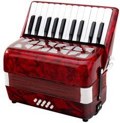 Classic Cantabile 31496 - Acordeón para niños 8 bajos, color rojo: Amazon.es: Instrumentos musicales Bass, Instruments, Percussion, Piano, Classic, Moulding, Crafty, Party, Sculptures
