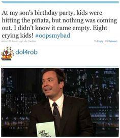 This #BirthdayPartyFail: