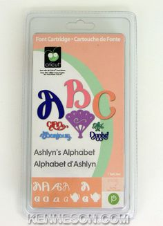 Cricut Ashlyn's Alphabet Font Expression Cartridge New | eBay