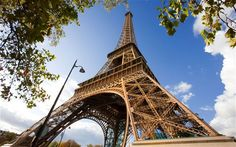 Eiffel Tower and alternatives with a view