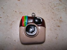 Instagram Charm (polymer clay charm/ clay charm/ cell phone charm/ zipper charm)
