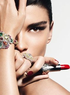 Crystal Renn, Vogue Paris, Oct*13